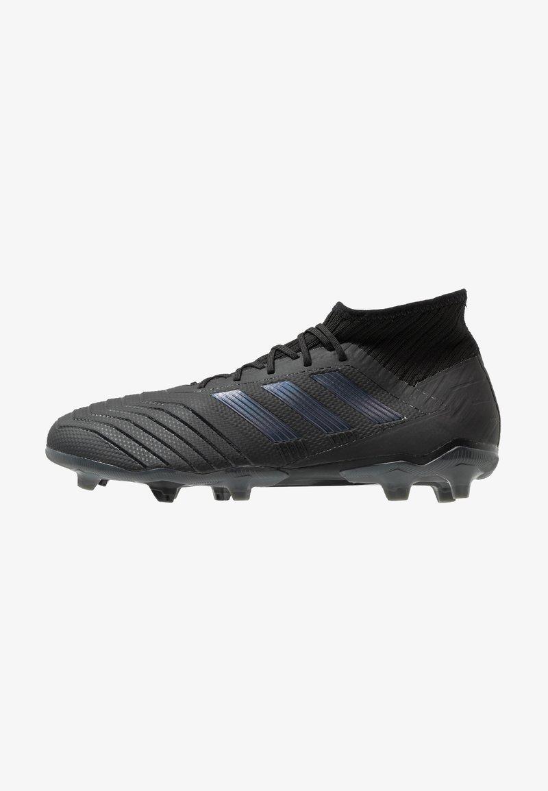 adidas Performance - PREDATOR 19.2 FG - Fußballschuh Nocken - core black/utility black