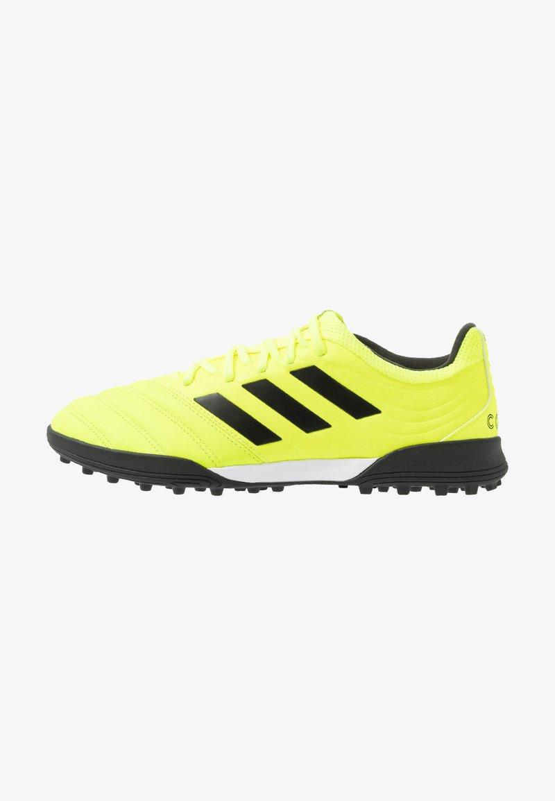 adidas Performance - COPA 19.3 TF - Fodboldstøvler m/ multi knobber - solar yellow/core black