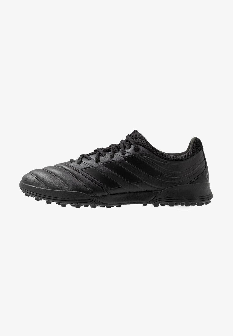 adidas Performance - COPA 19.3 TF - Fodboldstøvler m/ multi knobber - core black