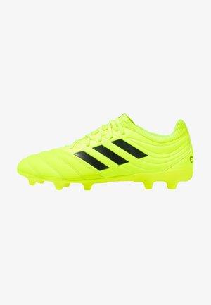 COPA 19.3 FG - Botas de fútbol con tacos - solar yellow/core black
