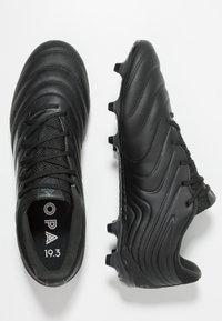 adidas Performance - COPA 19.3 FG - Voetbalschoenen met kunststof noppen - core black - 1