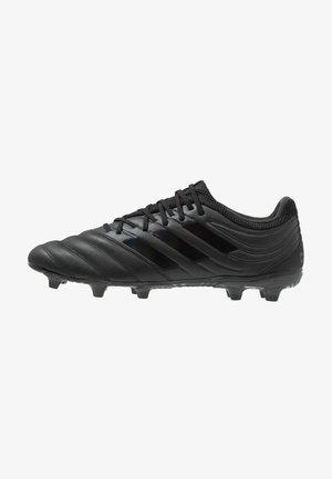 COPA 19.3 FG - Voetbalschoenen met kunststof noppen - core black