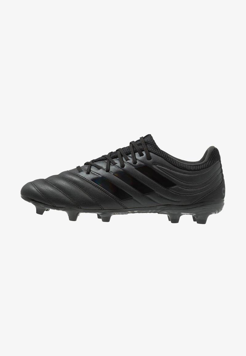 adidas Performance - COPA 19.3 FG - Voetbalschoenen met kunststof noppen - core black
