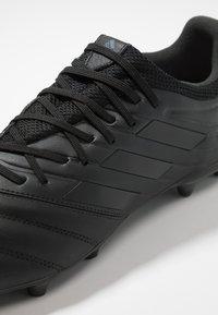 adidas Performance - COPA 19.3 FG - Voetbalschoenen met kunststof noppen - core black - 5