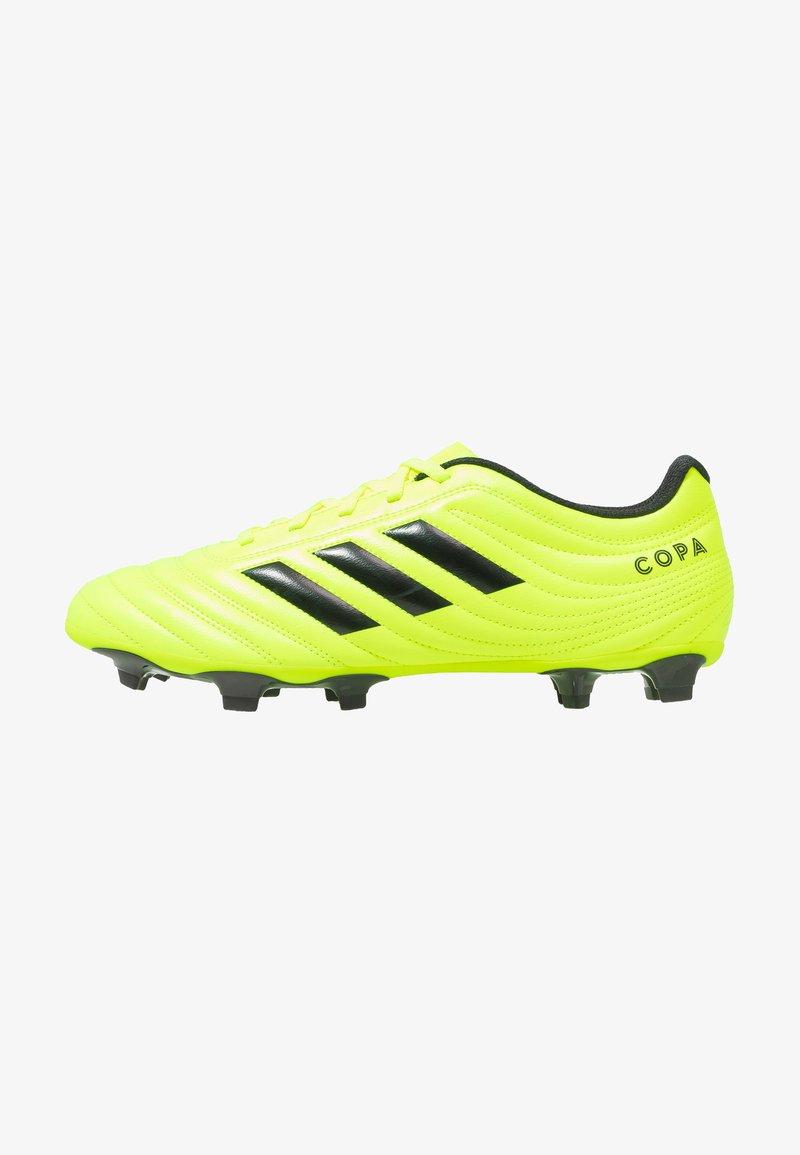 adidas Performance - COPA 19.4 FG - Fußballschuh Nocken - solar yellow/core black