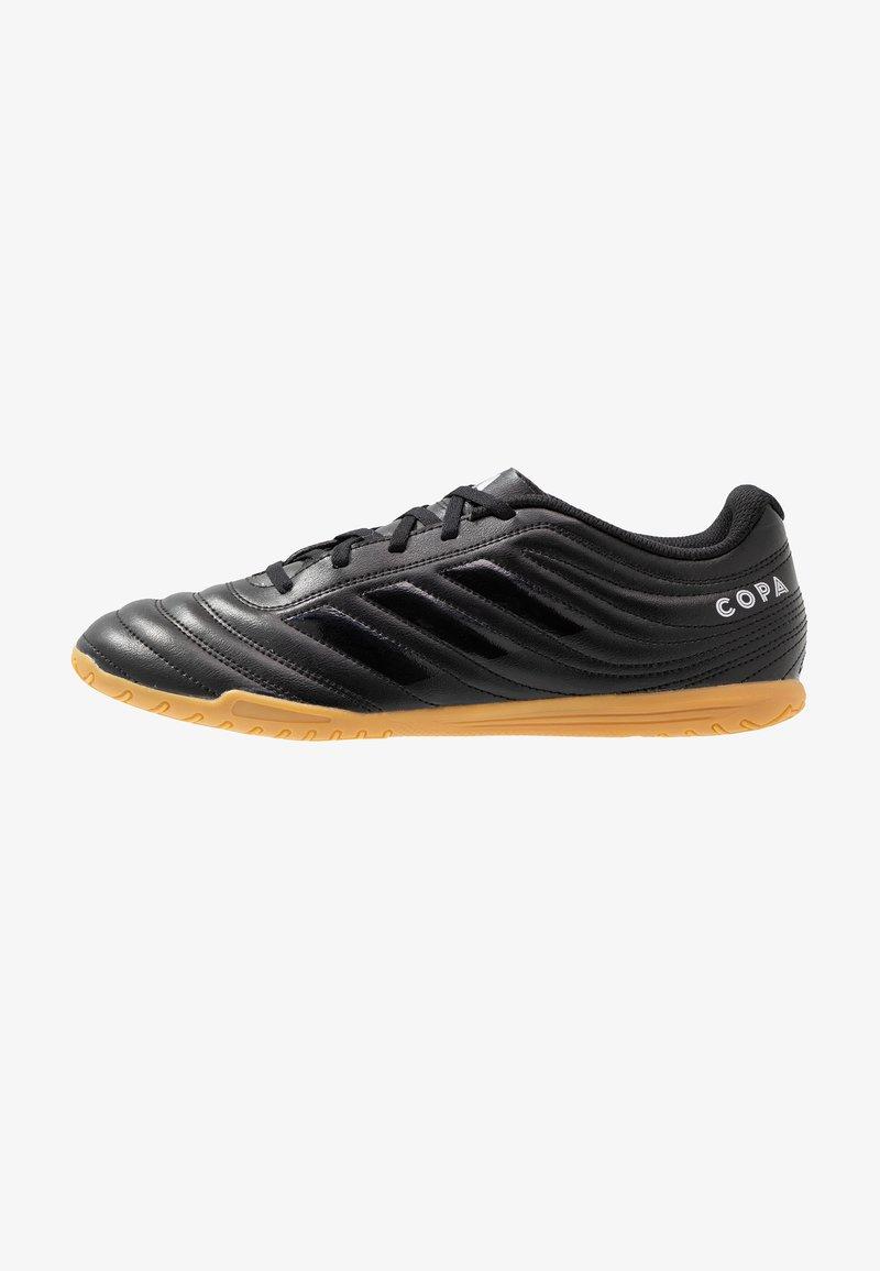 adidas Performance - COPA 19.4 IN - Botas de fútbol sin tacos - core black