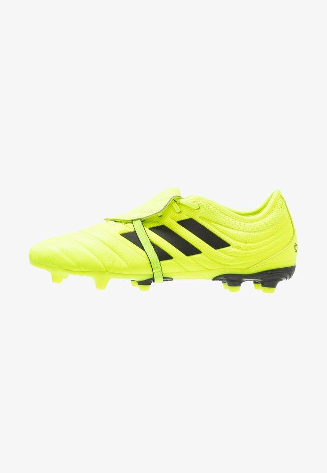 COPA GLORO 19.2 FG - Voetbalschoenen met kunststof noppen - solar yellow/core black