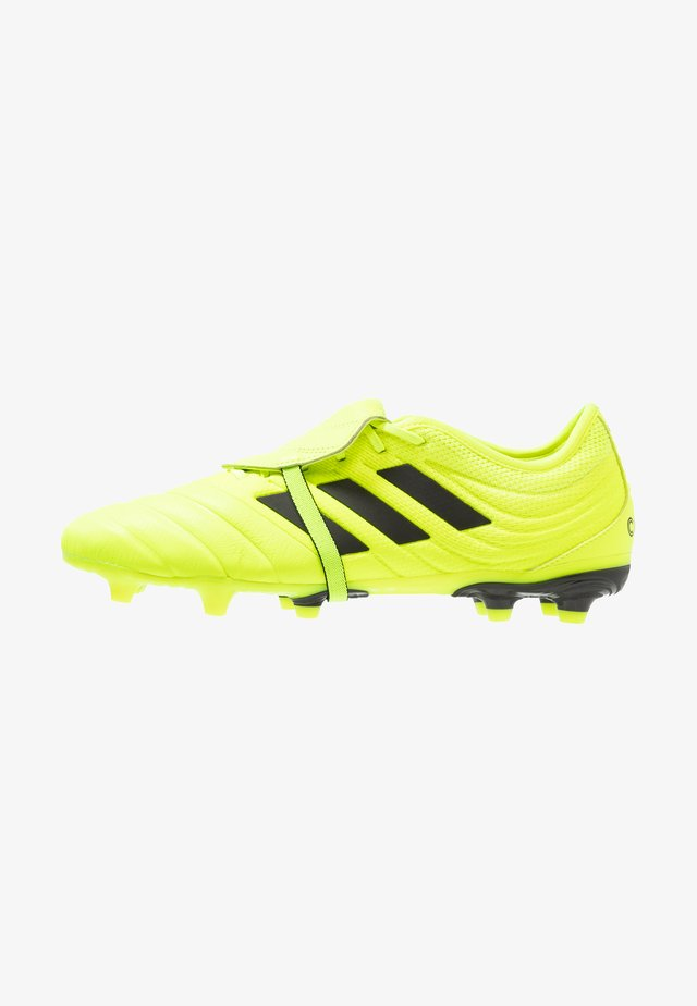 COPA GLORO 19.2 FG - Moulded stud football boots - solar yellow/core black