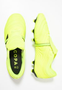 adidas Performance - COPA GLORO 19.2 FG - Chaussures de foot à crampons - solar yellow/core black - 1