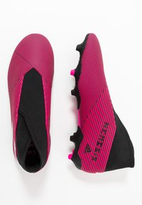 adidas Performance - NEMEZIZ 19.3 LL FG - Botas de fútbol con tacos - shock pink/footwear white/core black - 1