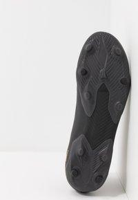 adidas Performance - NEMEZIZ 19.3 LL FG - Chaussures de foot à crampons - core black/gold metallic/utility black - 4