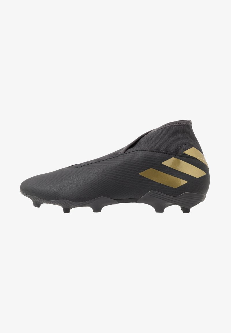 adidas Performance - NEMEZIZ 19.3 LL FG - Fotballsko - core black/gold metallic/utility black
