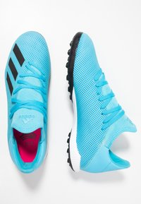 adidas Performance - X 19.3 TF - Chaussures de foot multicrampons - bright cyan/core black/shock pink - 1