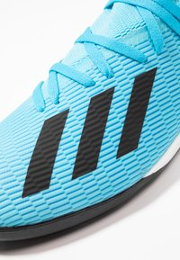 adidas Performance - X 19.3 TF - Chaussures de foot multicrampons - bright cyan/core black/shock pink - 5
