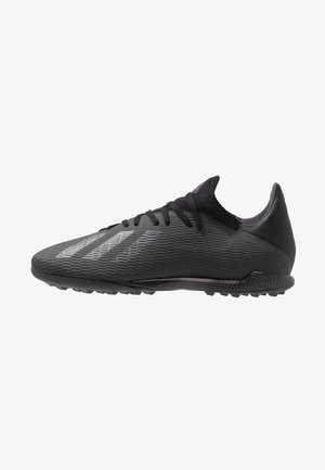 X 19.3 TF - Astro turf trainers - core black/utility black/silver metallic