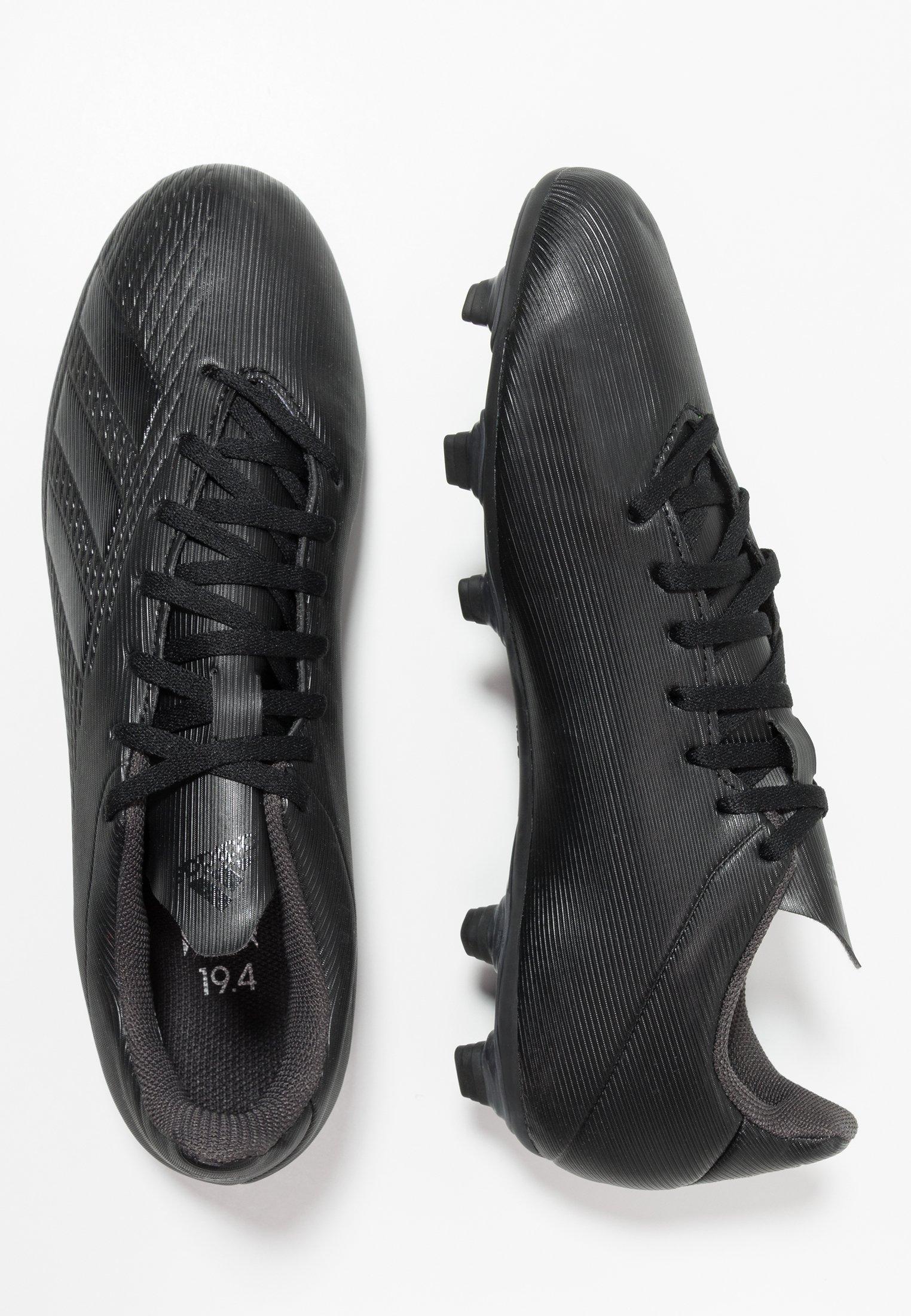 Adidas Performance X 19.4 Fxg - Fotbollsskor Fasta Dobbar Core Black/utility Black