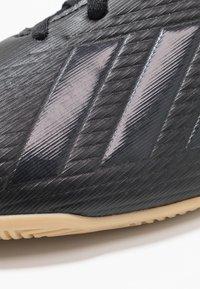 adidas Performance - X 19.4 IN - Botas de fútbol sin tacos - core black/utility black - 5