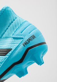 adidas Performance - PREDATOR 19.3 LL FG - Chaussures de foot à crampons - bright cyan/core black/solar yellow - 5