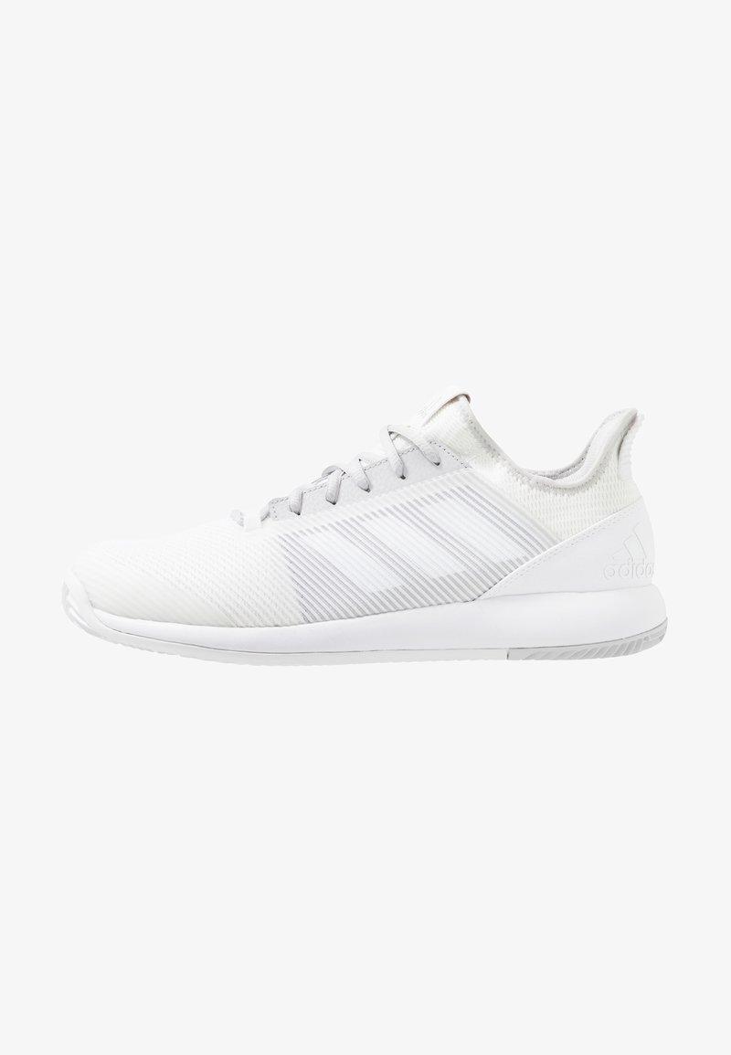 adidas Performance - DEFIANT BOUNCE 2 - Zapatillas de tenis para todas las superficies - footwear white/light solid grey