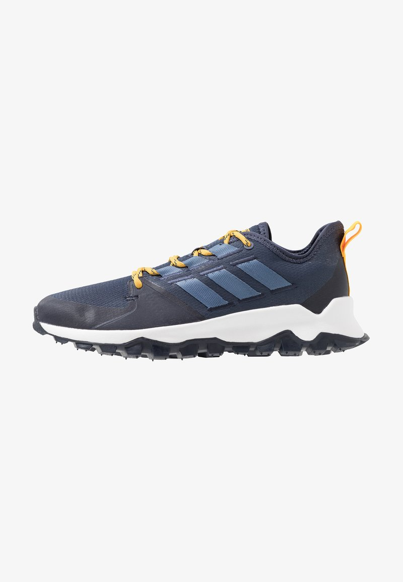 adidas Performance - KANADIA - Zapatillas de trail running - trace blue/tech ink/active gold