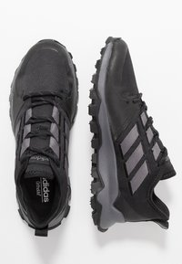 adidas Performance - KANADIA - Trail running shoes - coreblack/grey five/grey two - 1