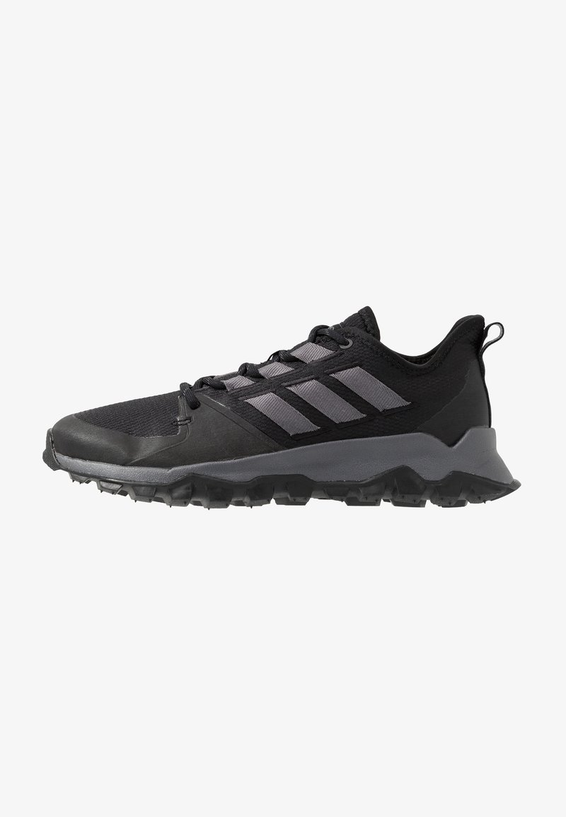adidas Performance - KANADIA - Löparskor terräng - coreblack/grey five/grey two