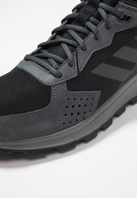 adidas Performance - RESPONSE TRAIL - Trail running shoes - core black/grey six - 5