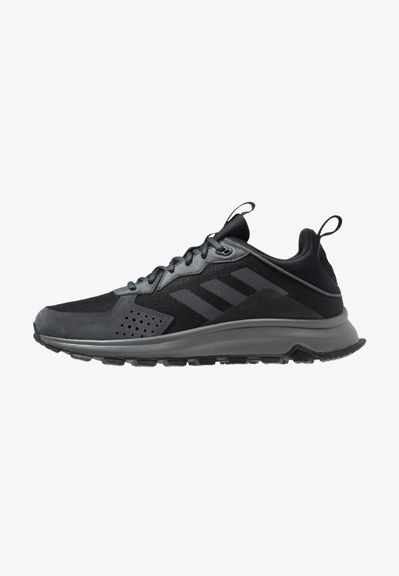 adidas Performance - RESPONSE TRAIL - Trail running shoes - core black/grey six