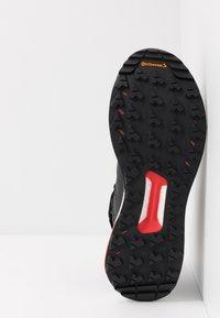adidas Performance - TERREX FREE HIKER GORE TEX HIKING SHOES - Hiking shoes - core black/grey three/active orange - 4