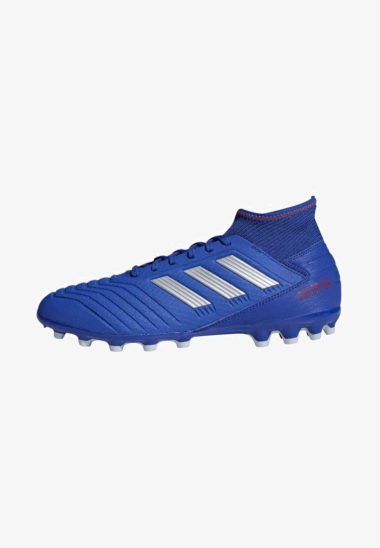 adidas Performance - PREDATOR 19.3 ARTIFICIAL GRASS BOOTS - Voetbalschoenen met kunststof noppen - blue