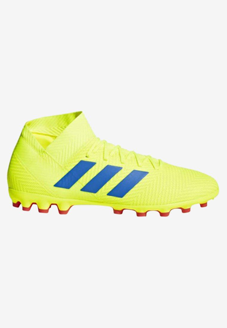 Grass 3 Yellow Tacchetti Da 18 Adidas Performance Con Artificial BootsScarpe Calcetto Nemeziz by76gYf