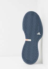 adidas Performance - ADIZERO UBERSONIC 3 - Clay court tennis shoes - footwear white/tech ink/light solid grey - 4