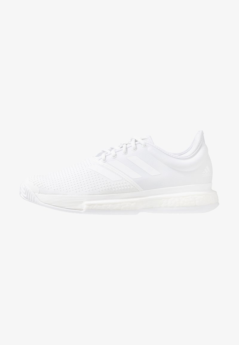 adidas Performance - SOLECOURT BOOST X PARLEY - Multicourt Tennisschuh - white/core black