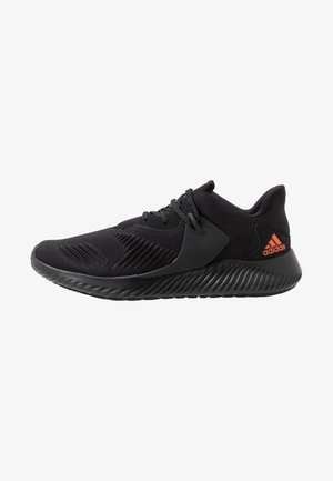 ALPHABOUNCE - Neutral running shoes - core black/solar red