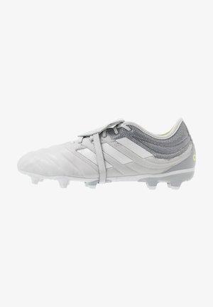 COPA GLORO 20.2 FG - Voetbalschoenen met kunststof noppen - grey two/silver metallic/solar yellow