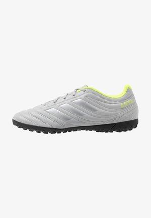COPA 20.4 TF - Botas de fútbol multitacos - grey two/matte silver/solar yellow