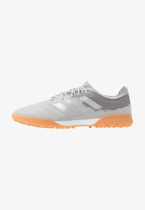 COPA 20.3 TF - Fotballsko for kunstgress - grey two/silver metallic/solar yellow