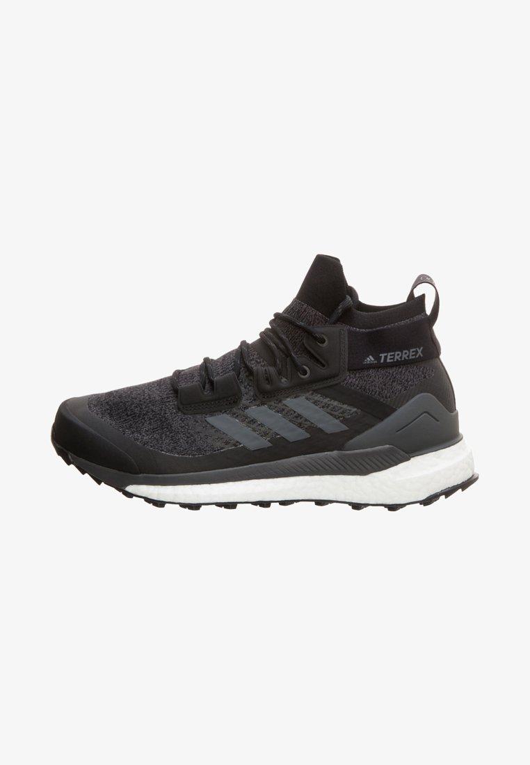 adidas Performance - TERREX FREE HIKER SHOES - Hikingskor - black
