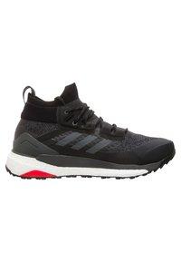 adidas Performance - TERREX FREE HIKER SHOES - Hikingskor - black - 6