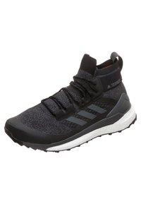 adidas Performance - TERREX FREE HIKER SHOES - Hikingskor - black - 2