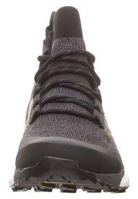 adidas Performance - TERREX FREE HIKER SHOES - Hikingskor - black - 5