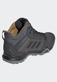 adidas Performance - TERREX AX3 MID GORE TEX HIKING SHOES - Hiking shoes - grey/ black - 4