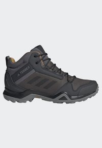adidas Performance - TERREX AX3 MID GORE TEX HIKING SHOES - Hiking shoes - grey/ black - 5
