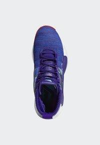 adidas Performance - DAME 5 SHOES - Basketball shoes - purple/blue/white - 2