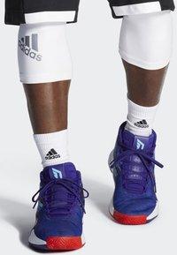 adidas Performance - DAME 5 SHOES - Basketball shoes - purple/blue/white - 0