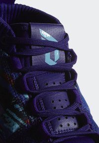 adidas Performance - DAME 5 SHOES - Basketball shoes - purple/blue/white - 10