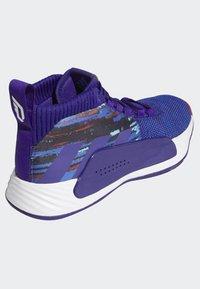 adidas Performance - DAME 5 SHOES - Basketball shoes - purple/blue/white - 4