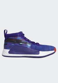 adidas Performance - DAME 5 SHOES - Basketball shoes - purple/blue/white - 6