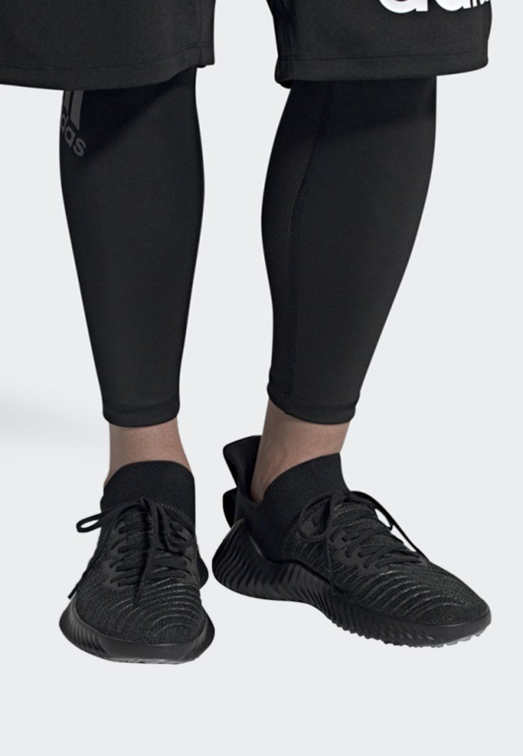 adidas Performance - ALPHABOUNCE TRAINER SHOES - Træningssko - black