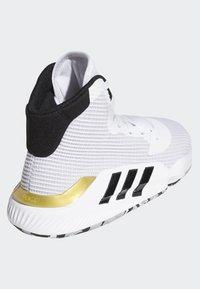 adidas Performance - PRO BOUNCE 2019 SHOES - Chaussures de basket - white - 4